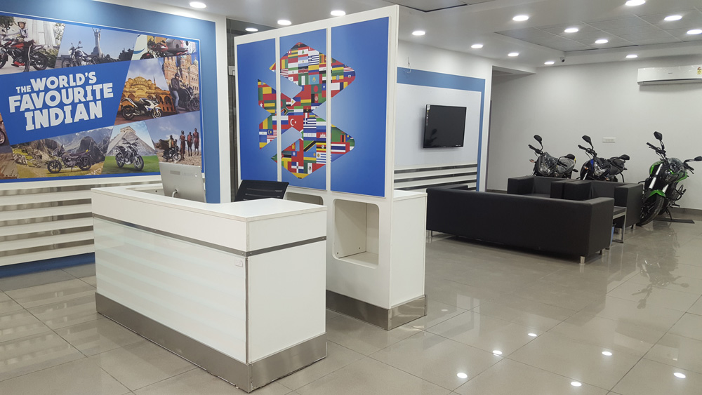 bajaj showroom Noida sector 63