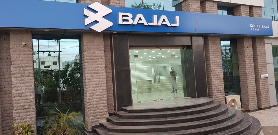 Bajaj dealership at sector 63 Noida
