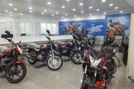 bajaj dealership at Noida sector 63